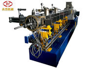 สองขั้นตอน Twin Screw Extruder Machine สำหรับ PVC Cable Shoe Sole Pelletizing SJSL 75B
